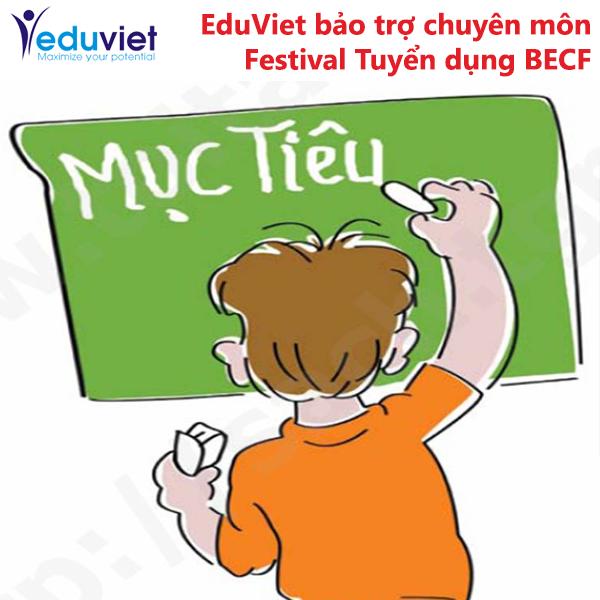 EduViet bảo trợ chuyên môn Festival Tuyển dụng BECF