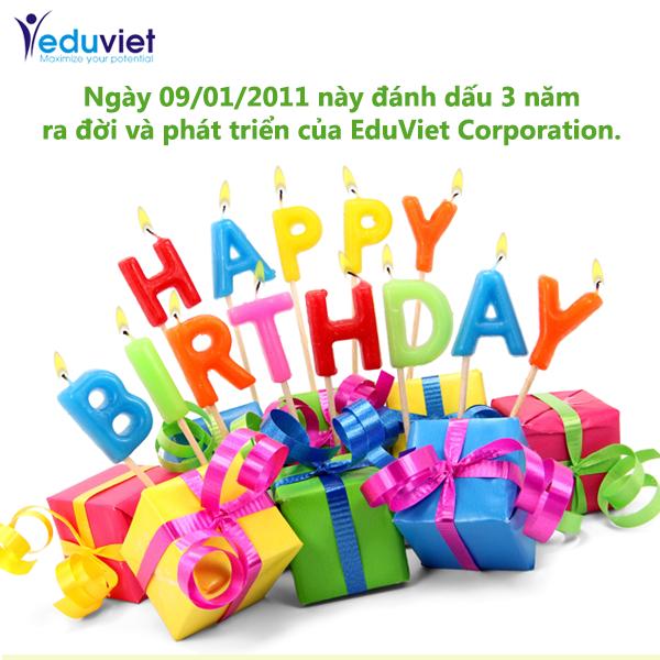 Happy Birthday EddViet