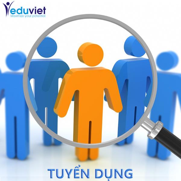 EduViet tuyển dụng thực tập viên Marketing Online tháng 12