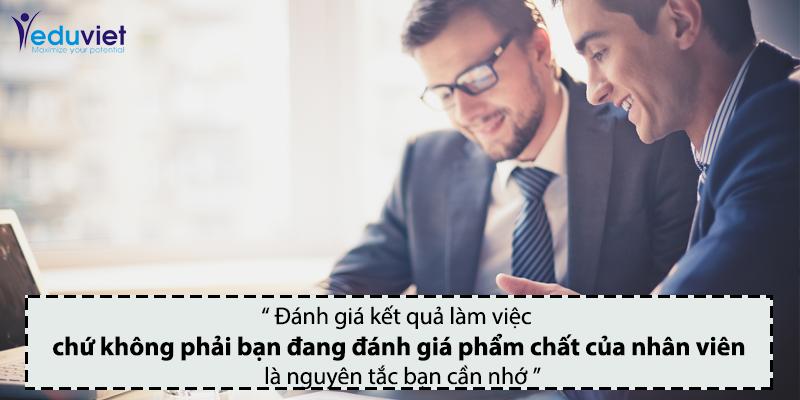 Phương pháp đánh giá kết quả làm việc của nhân viên
