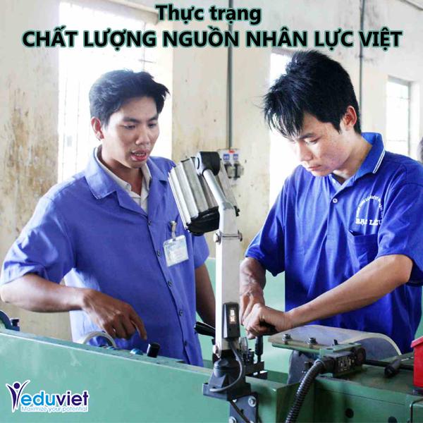 thực trạng chất lượng nguồn nhân lực Việt