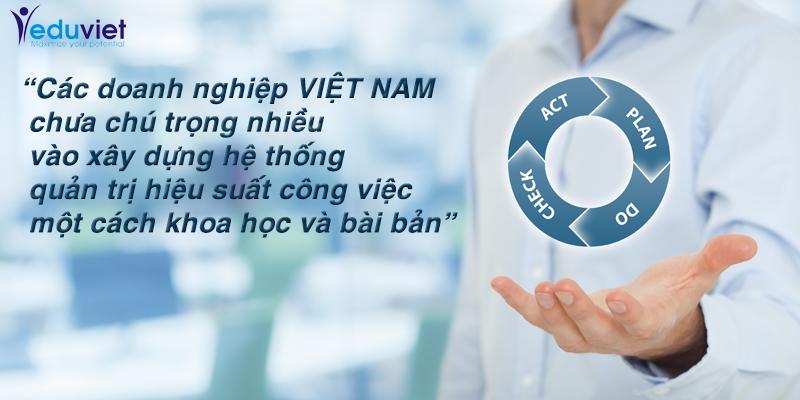 Quản trị hiệu suất: Bài học cho lãnh đạo doanh nghiệp Việt