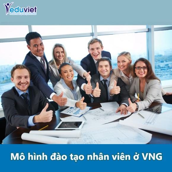 Mô hình đào tạo nhân viên ở VNG