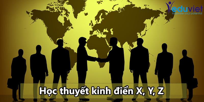 Ba học thuyết quản trị nhân sự của phương Tây
