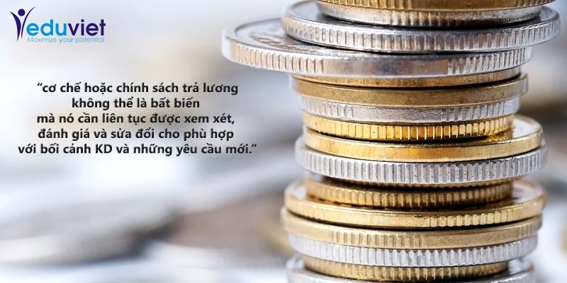 Thiết lập quy chế và Cơ chế trả lương cho doanh nghiệp Việt