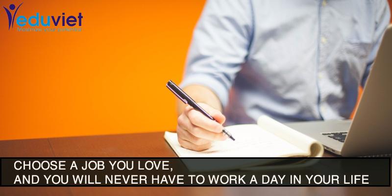 Sự khác nhau giữa nghề nghiệp và công việc