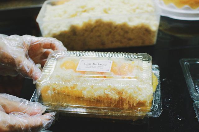 Để cho ra những suất bánh ngon nhất.