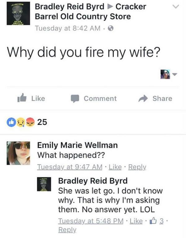 Vợ bị đuổi việc, chồng lên Facebook công ty hỏi và câu chuyện chẳng ai ngờ diễn ra sau đó