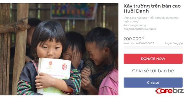 Xây dựng hòm quyên góp online, mỗi lần mua sắm là khách hàng có thêm một cơ hội để làm từ thiện!