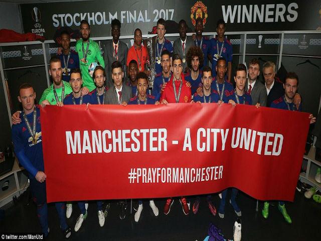 MU không rước cúp, bắt tay Man City cứu trợ Manchester